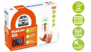 Автосигнализация StarLine D95 BT CAN+LIN GSM-GPS