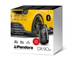 Автосигнализация Pandora DX 90BT 2CAN и метка Bluetooth 4.2