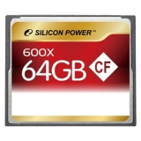 Карта памяти Compact Flash Silicon Power 600X 64GB