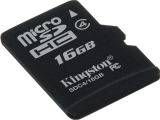 Карта памяти MicroSDHC Kingston Class 4 16GB